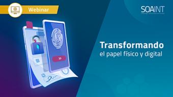 Transformando el papel físico y digital. Optimización Cloud de Arquitectura TI